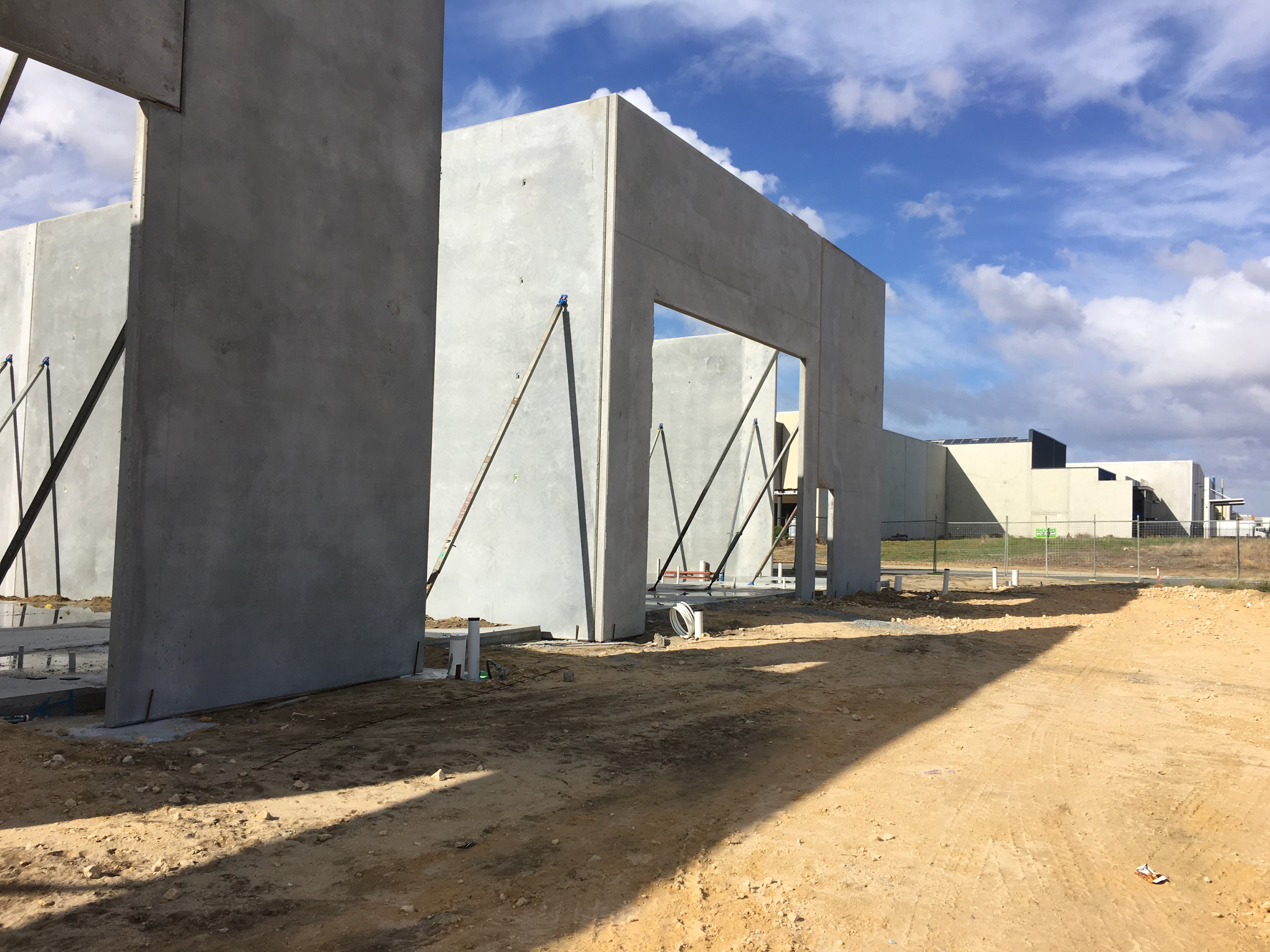 Modform can install concrete building panels